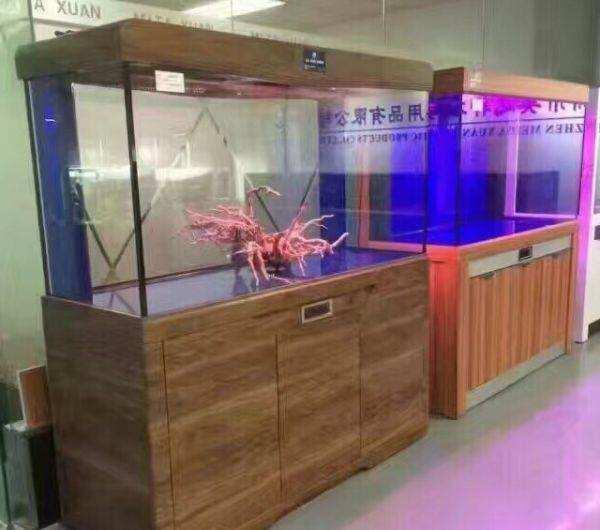 北京红木(实木)鱼缸 北京鱼缸 北京龙鱼第2张