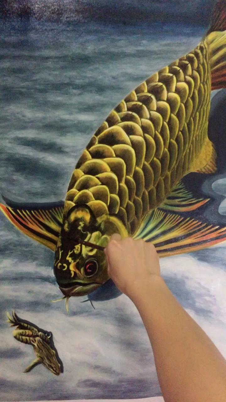 北京大帆立体金龙龙鱼