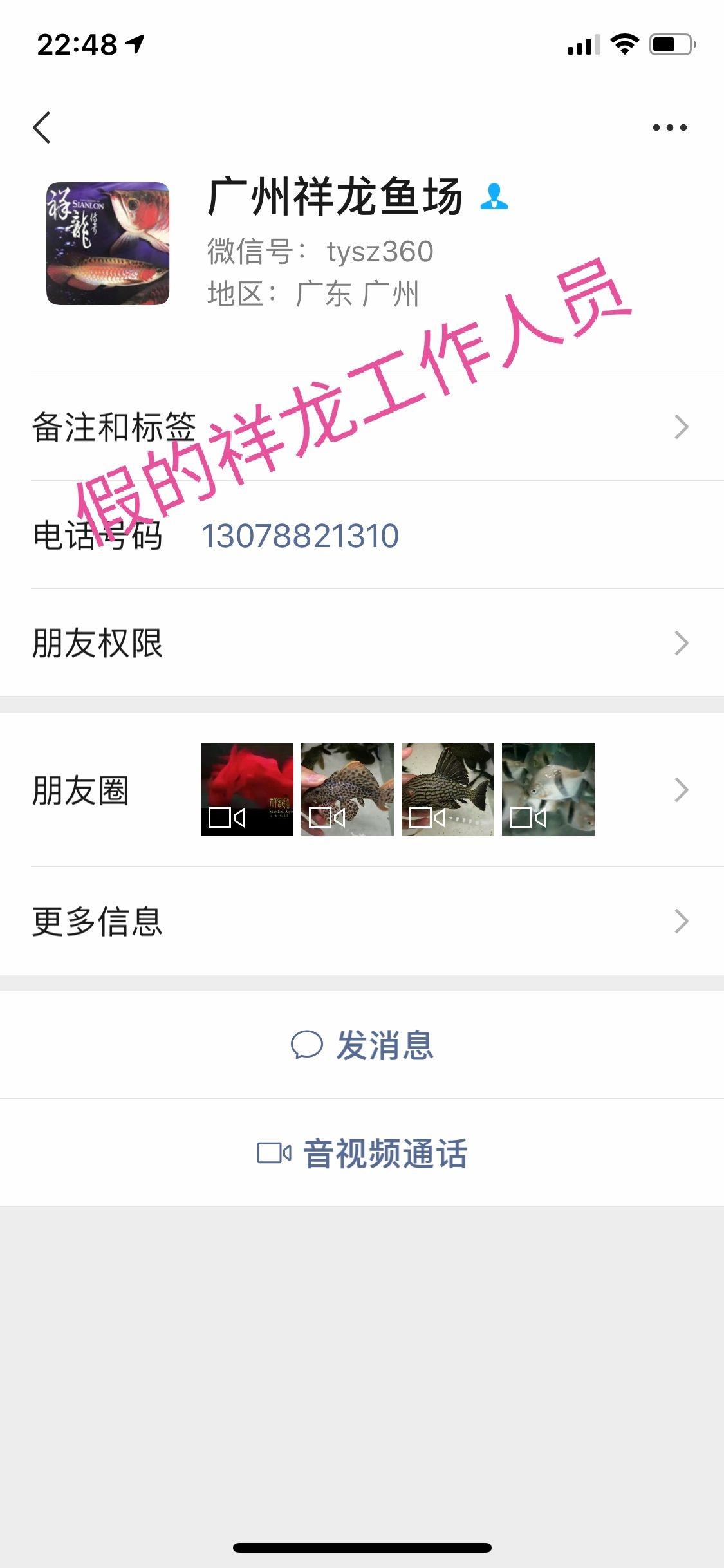 北京非洲虎鱼鱼友请留意下 北京观赏鱼 北京龙鱼第1张